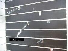 Lamellenwand Lamellenwände MDF Wand Paneele Schwarz