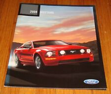 Original 2008 Ford Mustang Sales Brochure Shelby GT500 GT V6