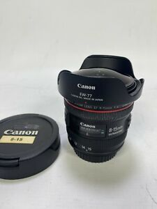 Canon 8-15mm f/4 L EF USM Wide Angle Fisheye Lens