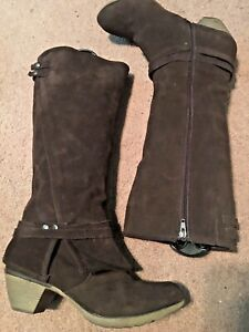 Crown Vintage Knee High Boots for Women