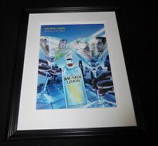 2001 Bacardi Limon Rum Framed 11x14 ORIGINAL Vintage Advertisement B