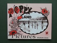 POPPYLAND IN PICTURES -  ELIZABETH JONES 1988 PB 2ND SUPER B/W  NORFOLK PHOTOS