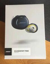 Bose SoundSport Free Truly Wireless Headphones Navy Citron Brand New Sealed UK