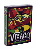 Vizago Playing Cards LPCC - Blue and Red (Red)