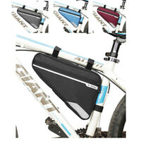 Bike Front Tube Frame Bag Bicycle Cycling Triangle Storage Bag Waterproof Pouch