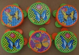 6 mini tambourine Party Bag Toy Filler