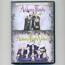 2 Addams Family movies, new DVD Values Halloween Christopher Lloyd, Ricci Huston