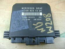 MERCEDES W208 CLK PASSENGER FRONT DOOR CONTROL MODULE ECU 2088201326