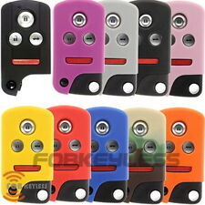 New Acura 4 Button smart key Protective Silicone Case Jacket