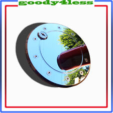 For 09-14 FORD F150 PICKUP TRUCK CHROME BILLET GAS FUEL DOOR ASSEMBLY LOCK