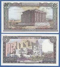 Lebanon 50 Livres P 65 c 1985 LIBAN UNC Low Shipping! Combine FREE!