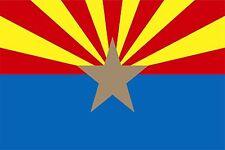Fahne Flagge Arizona 60 x 90 cm Bootsflagge Premiumqualität
