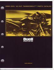 BUELL Teilebuch 2000-01 S3 S3T Thunderbolt OEM 99570-01Y Buch NEU OVP Harley