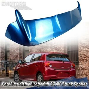 2015 Fit For Mitsubishi Mirage 6th Hatchback OE Trunk Spoiler Color Code#T69