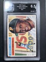 1956 Topps #33 Roberto Clemente graded 6.5 -  Check Out The Pics! PSA 7 Or 8????