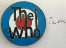 THE WHO MOD ROUND TARGET BAND ENAMEL BUCKLE TAKES 4CM BELT ROCK
