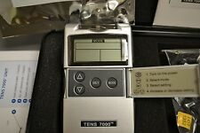 TENS 7000 Digital Back Pain Relief System Unit Complete with Electrodes NEW