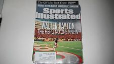 Walter Payton- The Hero No One Knew -Sports Illustrated- 10/3/2011