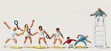 Figurines Merten H0 (2490) Tennis 6 Players Referee