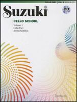 Suzuki Cello School Volume 1 Music Book/CD Learn How to Play Beginner Method