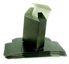 12 X Luxury Flat Pack Gloss Black Gift Box Packaging 70 x 60 x 25