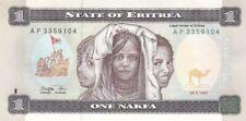 1997 Eritrea 1 Nafka Note, Pick 1