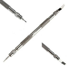 Metal Watch Band Strap Spring Bar Link Remover Removal Repair Tool & 4 Pins Set