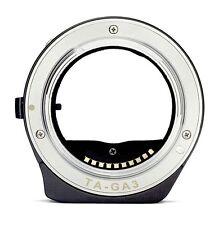 TECHART Auto Focus Adapter 3rd Contax G Lens to Sony E NEX-A7 7 6 A5000 TA-GA3