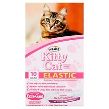 Kitty Cat Elastic Litter Box Liners, Extra-Giant , 10Ct