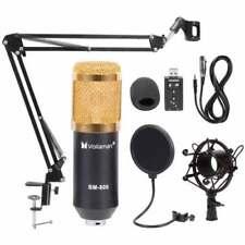 Bm800 Condenser Microphone Kit Studio Suspension Boom Scissor Arm Sound Card AU