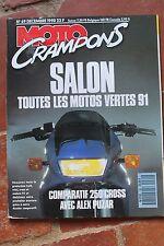 MOTO CRAMPONS N°69 SUZUKI 200 TSR 250 RM KTM YAMAHA YZ HONDA CR KAWASAKI KX 1990