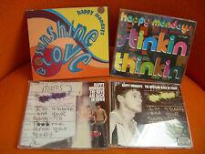 LOT DE 4 CD MAXI: HAPPY MONDAYS- BRIT POP INDIE ROCK ELECTRO FACTORY MANCHESTE