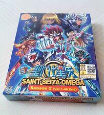 SAINT SEIYA OMEGA Anime TV Season 2 Ep.1 - 46 End DVD Box Set (Box 1 Available)