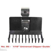 "Clipper Blade Comb Guide No.00 1/16""  ( ships gray or black )"