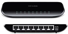 New TP-Link TL-SG1008D Ver:6.0 5xPort 10/100/1000Mbps Gigabit Ethernet Switch