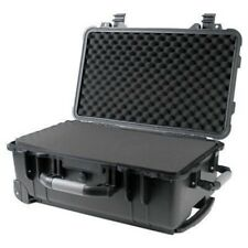 "22"" Rolling Weatherproof Case for Drone Camera Gun w/ Pelican 1560 Style Foam"