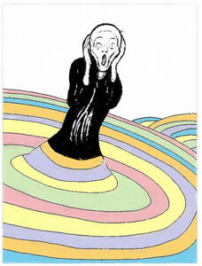 Philippe LE MIERE...Dr Suess could go with Edvard Munch's Scream- Signed Pop Art