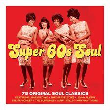 Super 60s Soul - 75 Original Soul Classics (3CD 2013) NEW/SEALED