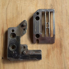 Original Union Special 43200 G 43200G Throat & Needle Plate Set 43280 B 43228 G