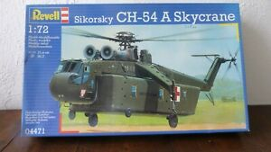 MAQUETTE D'AVION REVELL ECHELLE 1/72 HELICOPTERE SIKORSKY CH-54 A SKYCRANE