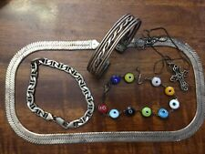 LOT of STERLING SILVER Antique/Vintage JEWELRY~ALL WEARABLE~NOT SCRAP~Cool