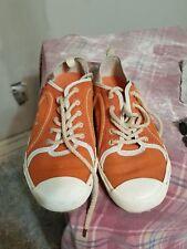 PATAGONIA Patrol Salmon Womens Size 9.5 / 40.5 Shoes Sneakers Orange Hemp Qa4