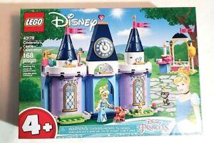 LEGO 43178 Disney Princess Cinderella's Castle Celebration (New & Sealed)