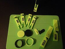 3DR Solo Starter Set Neon Green And Black Anti Tip Feet