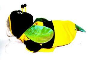 Animal Welfare League Benefit Costume Parade Halloween Dog Sz L BEE HOODIE