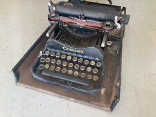 Corona Typewriter Antique With Case