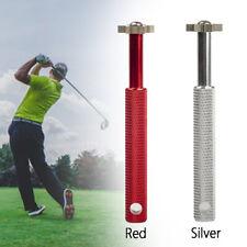 Portable Steel Groove Sharpener Regrooving Cleaner Head Strong Wedge Golf Club