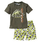 Kids Baby Boys Girl Clothes T-shirt Tops Pants Nightwear Pyjamas Pj's Outfit Set