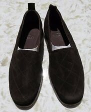 Chubasco Hand Made Men's Dk Brown Slip On Shoes - Natural Leather NEW!  SIZE 9