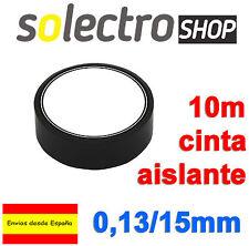 2x Cinta Aislante PVC Negra 10 metros x 15mm x 0,13mm  H0031
